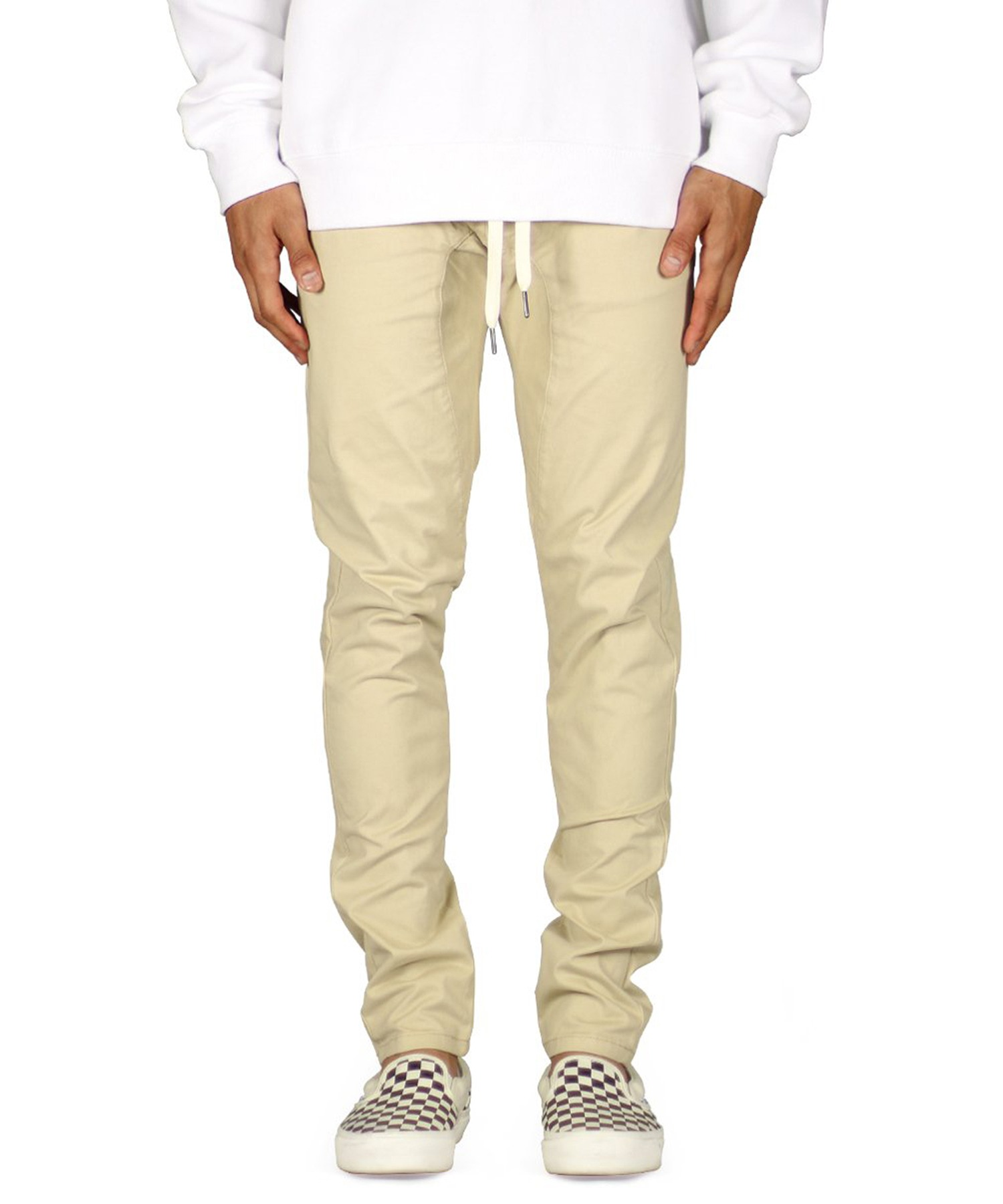 Khaki Drop Crotch Pant