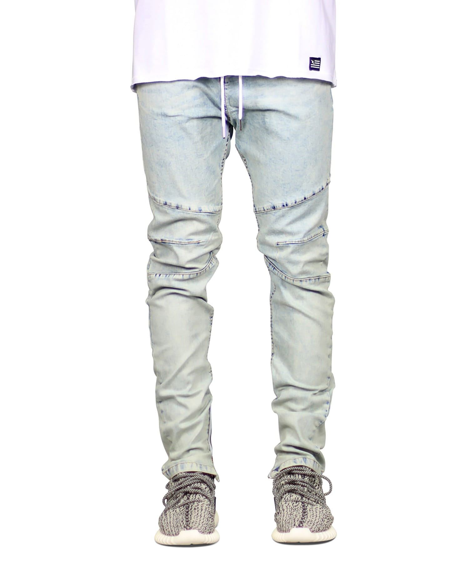 Hyper Blue Gnu Zipper Jean