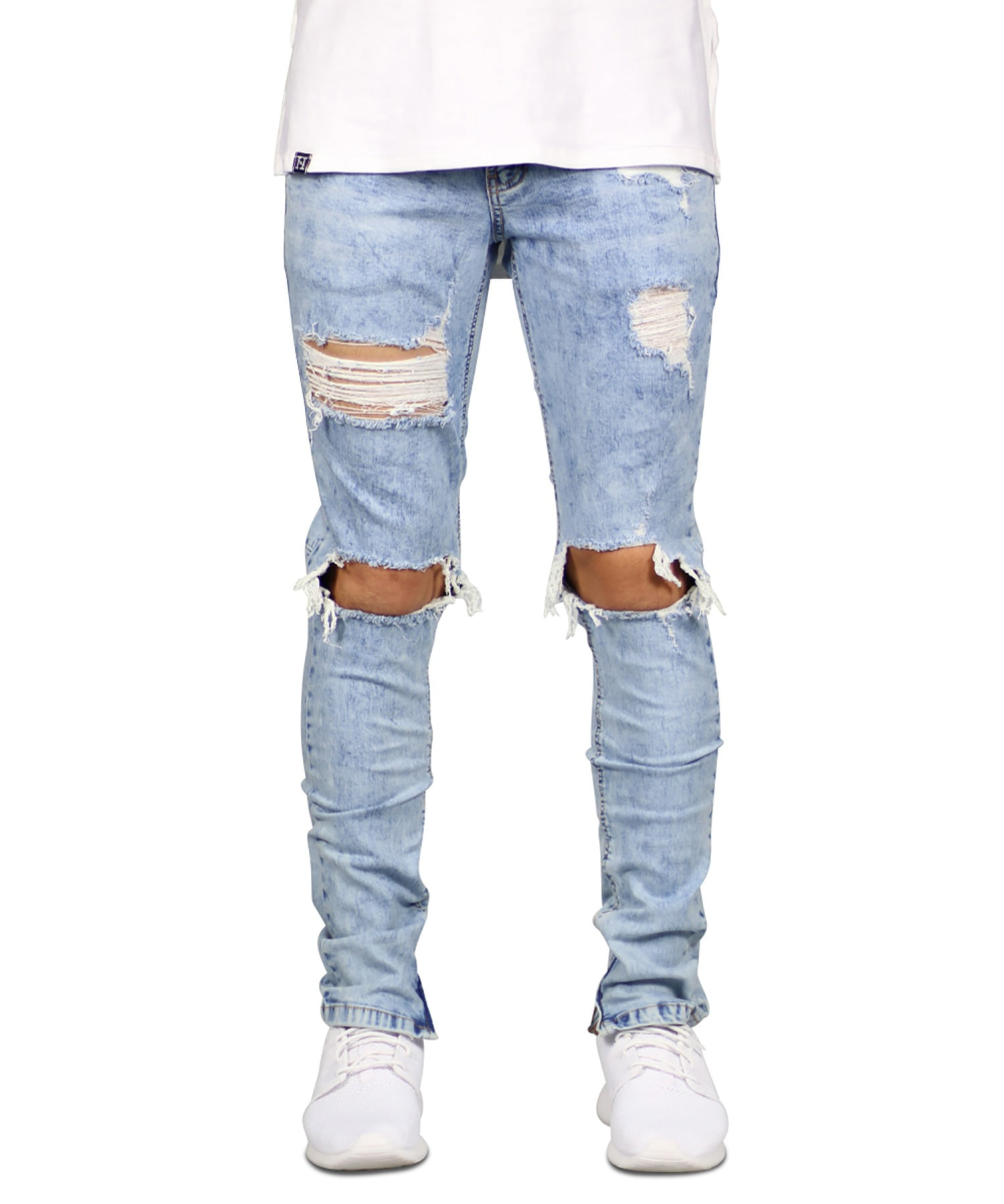 Hyper Blue Mufa Zipper Jean