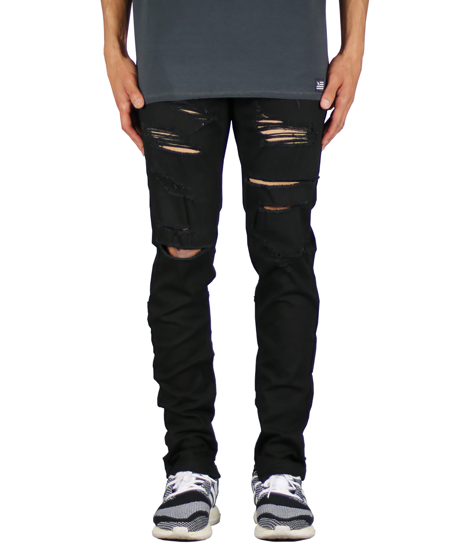 Black Ato Zipper Pant