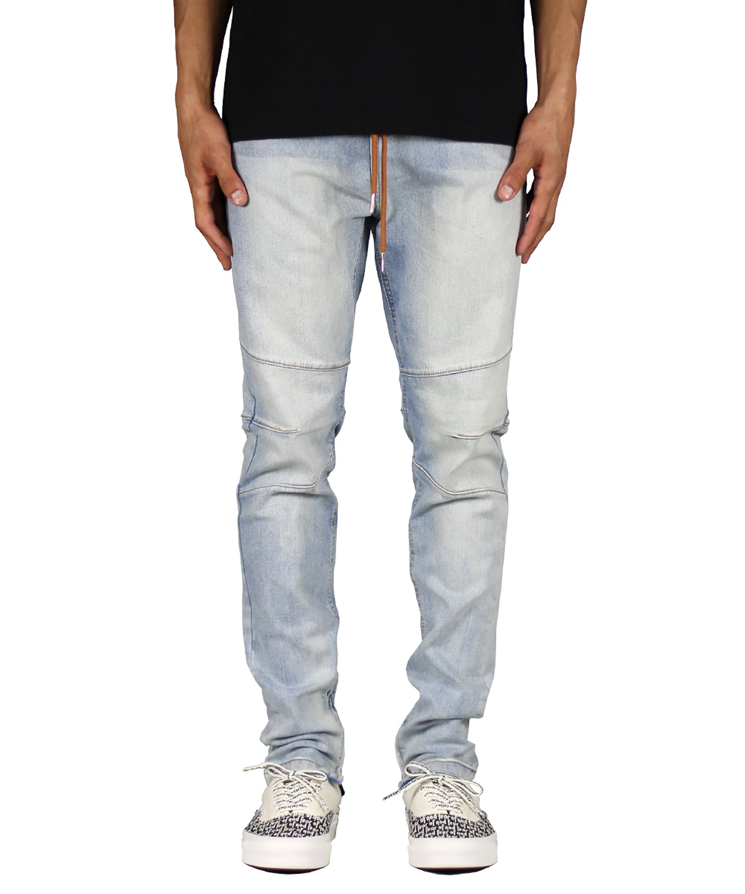 Light Blue Gnu Zipper Jean
