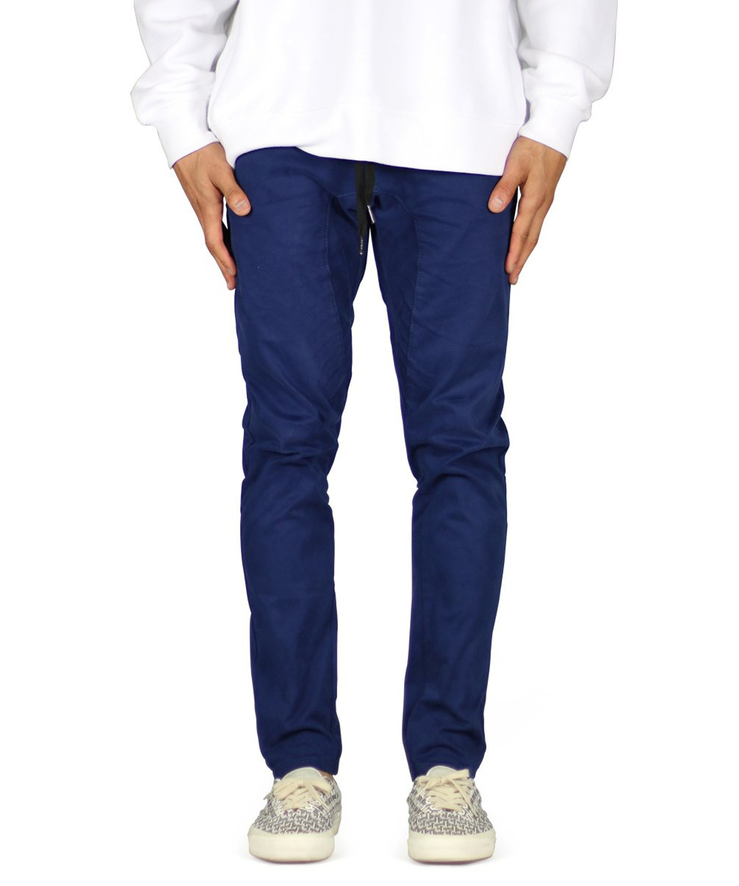 Dark Navy Drop Crotch Pant