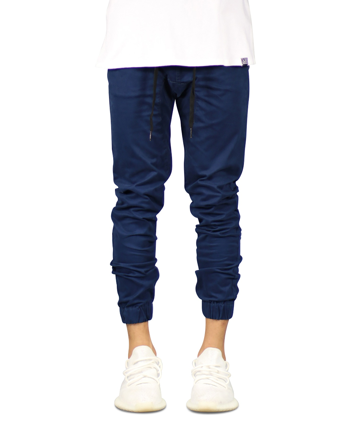 Dark Navy Drop Crotch Jogger