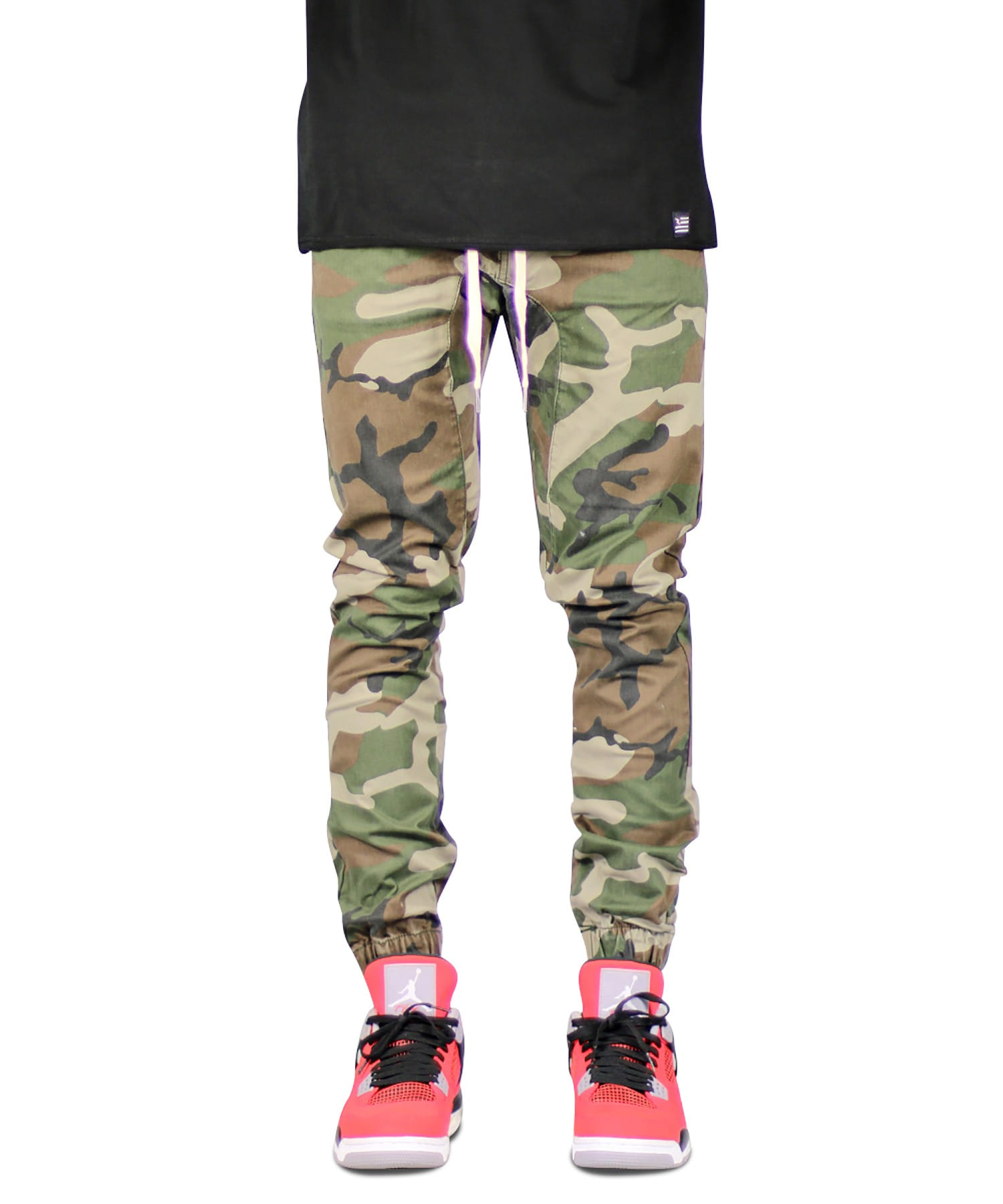 Camo Drop Crotch Jogger