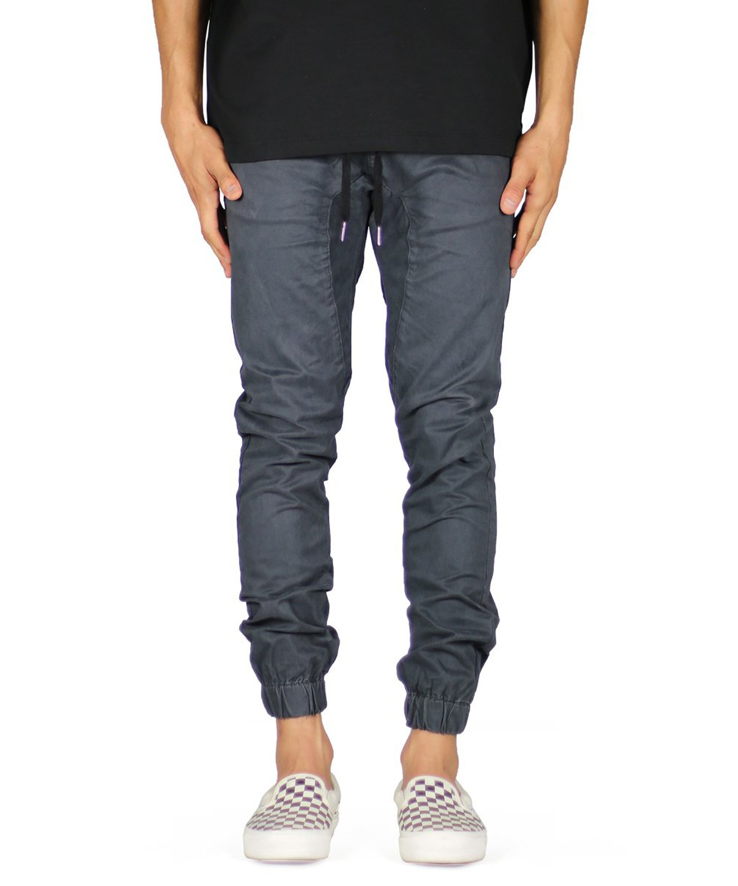 Charcoal Drop Crotch Jogger